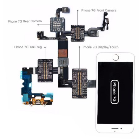 Flex Teste iBridge Qianli iPhone 7