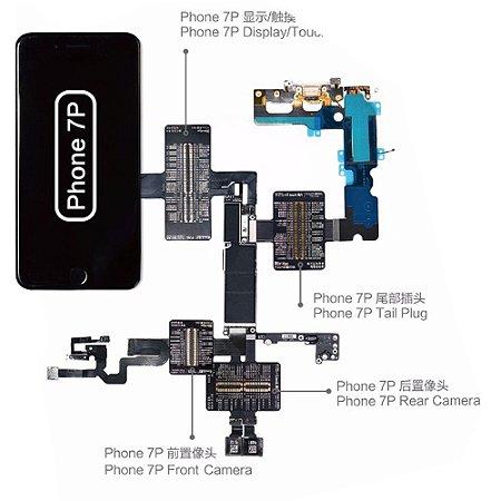 Flex Teste iBridge Qianli iPhone 7 Plus