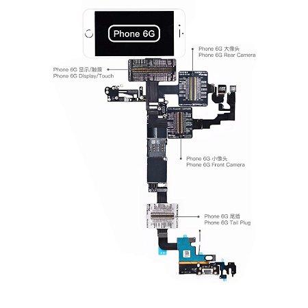 Flex Teste iBridge Qianli iPhone 6