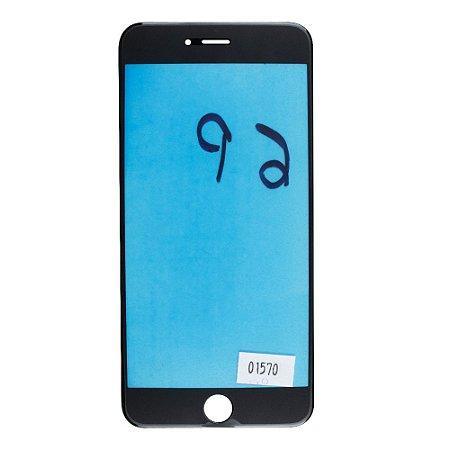 Vidro Frontal iPhone 6Plus 5.5 Preto