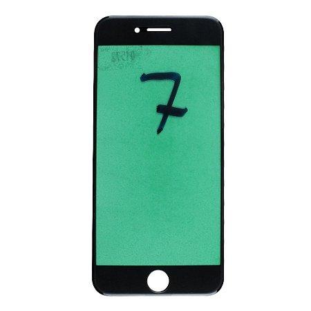Vidro Frontal iPhone 7 4.7 Preto
