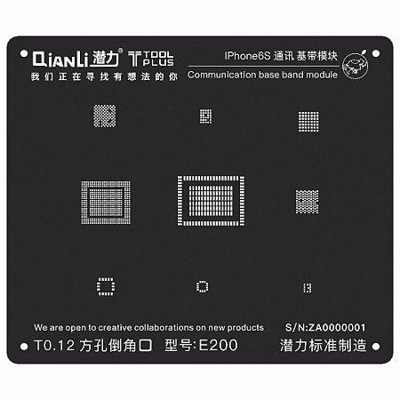Stencil Black Base Band iPhone 6S Qianli