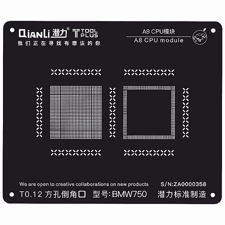 Stencil Black CPU A8 6 Qianli