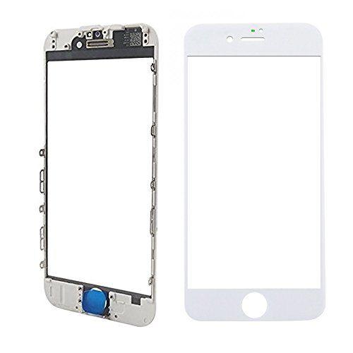 Vidro Frontal Iphone 8 4.7 Branco Com Moldura