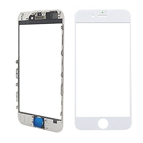 Vidro Frontal Iphone 8Plus 5.5 Branco Com Moldura