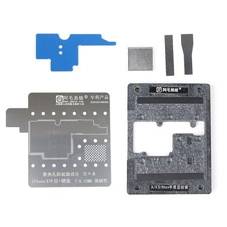 Base Magnética Amaoe Para Suporte Stencil iPhone X XS XMax