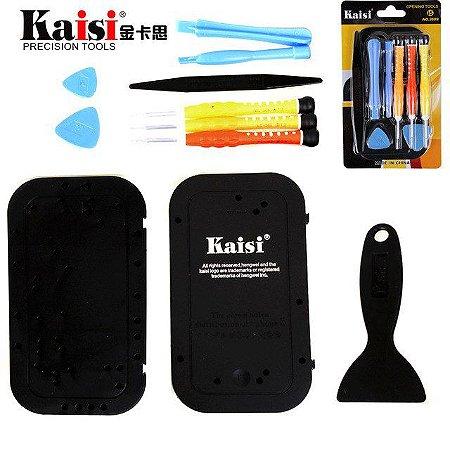 Kit de Chaves Kaisi 3689 Desmontagem iPhone 5 Guia de Parafusos
