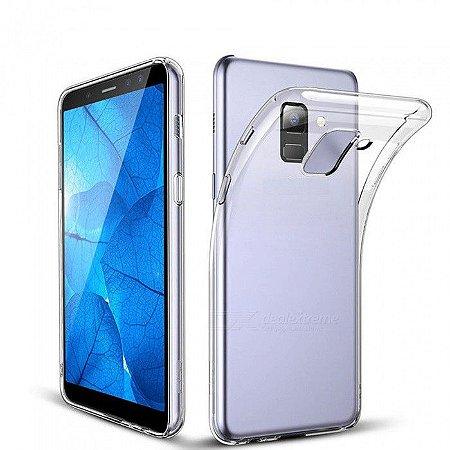 Capa Ultrafina Samsung J8 Transparente