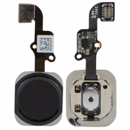 Flex Botão Home iPhone 6S 6S Plus Preto
