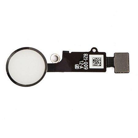 Flex Botão Home iPhone 8 Branco
