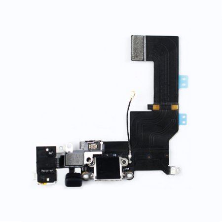 Flex conector de carga iPhone 5S Branco