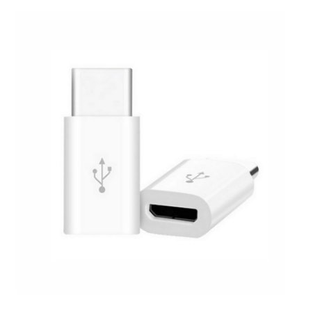 Conector adaptador tipo c entrada v8 micro USB