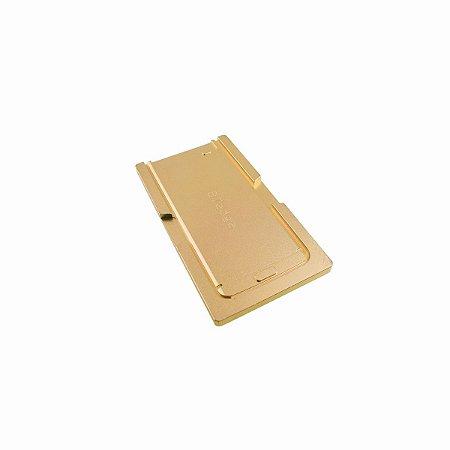 Molde Aluminio Laminação OCA Reparação LCD Samsung S7 Edge