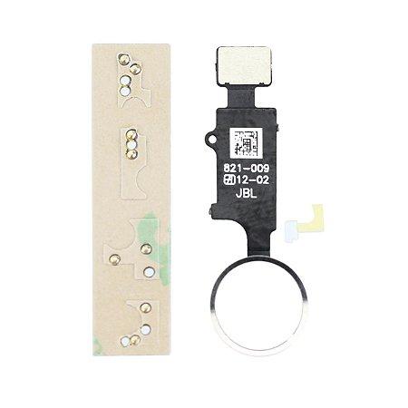 Botão Home Universal iphone 6 á 8plus Branco
