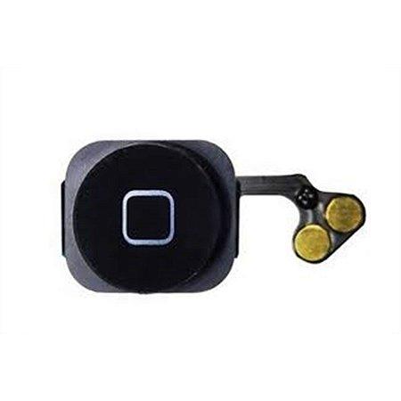Flex Botão Home iPhone 5G Preto