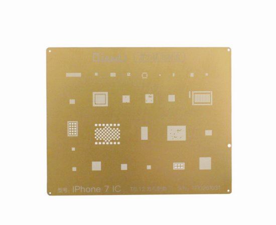 Stencil Gold iPhone 7 To.12 Qianli