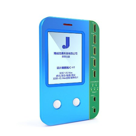 Programador JC V1 Tela Display Baseband Logic Vibra iPhone 7 a XS Max
