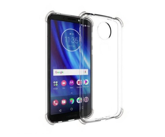 Capa Moto G6 Plus anti impacto transparente