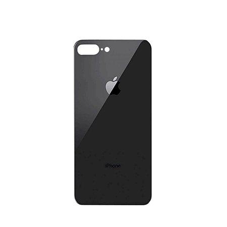 Tampa de vidro Traseira Iphone 8G Plus Preta