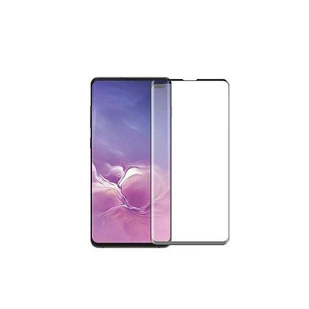 Pelicula Protetora Vidro Anti Choque 5D Samsung S10 Plus Preta