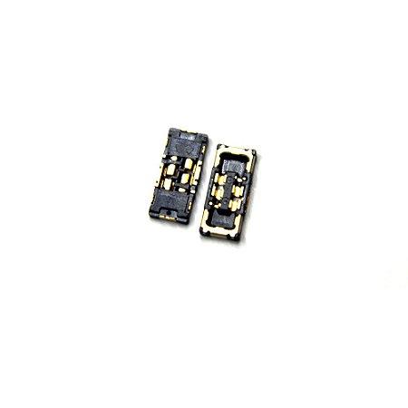 Conector Fpc Bateria Da Placa Iphone 8 8plus