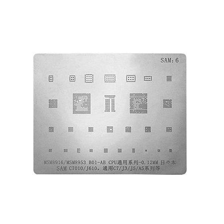 Stencil Para Reballing E Bga Samsung SAM6