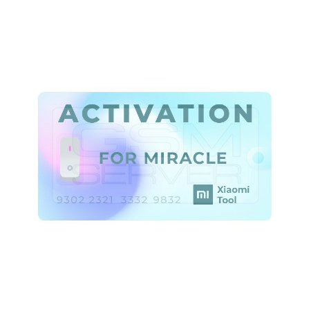 Ativação Miracle Xiaomi Tool