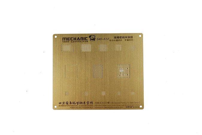 Stencil Bga 3D Mechanic A12 S40 compativel iPhone XS XS Max