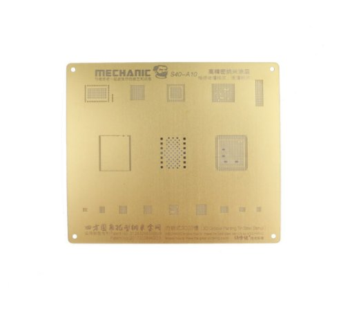 Stencil Bga 3D Mechanic A10 S40 compativel iPhone 7G