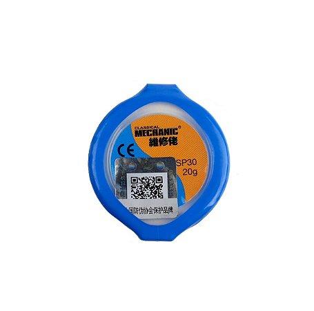 Solda em pasta Mechanic XGSP30 20gr