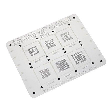 Stencil Para Reballing E Bga MTK C1