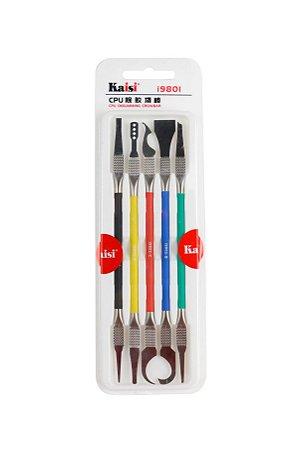 Espatula de Precisão Kaisi I9801 10 peças