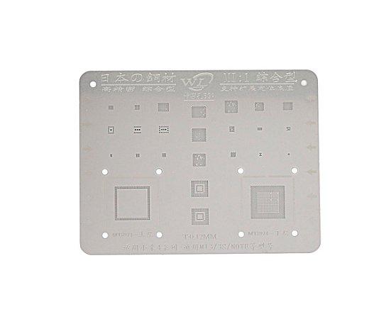 Stencil Para Reballing E Bga Xiaomi MI1