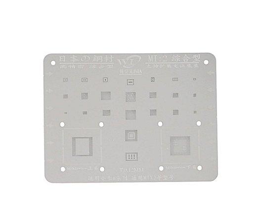 Stencil Para Reballing E Bga Xiaomi Mi2