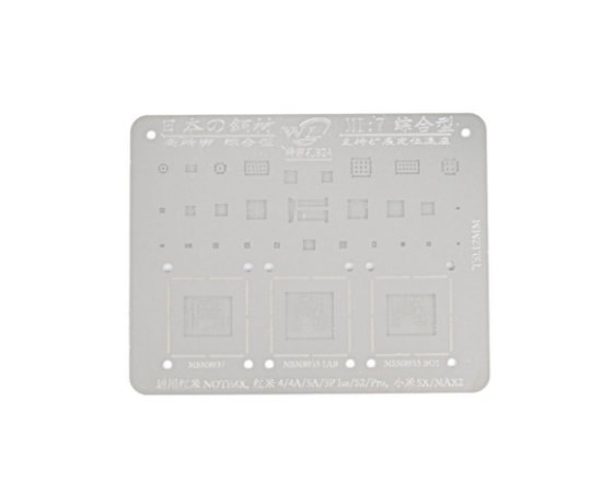 Stencil Para Reballing E Bga Xiaomi MI7