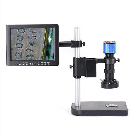 Microscopio Hayear 16mp Monitor 8p Led CN6