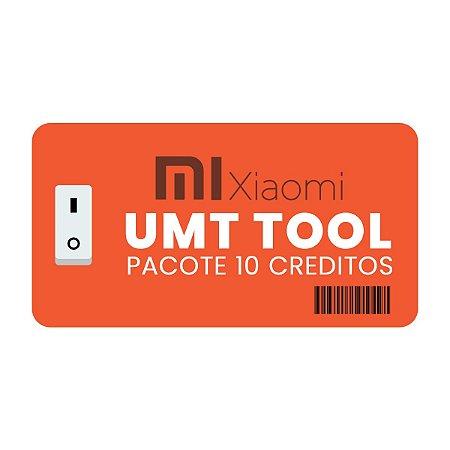 Pacote de 10 créditos UMT Xiaomi