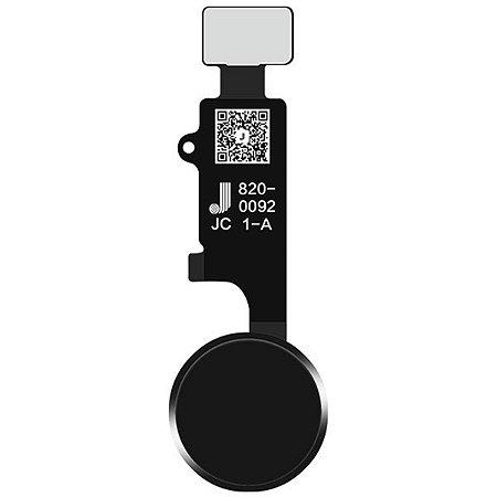 Botão Home Universal iphone 7 7p 8 8p função de retorno clique Preto