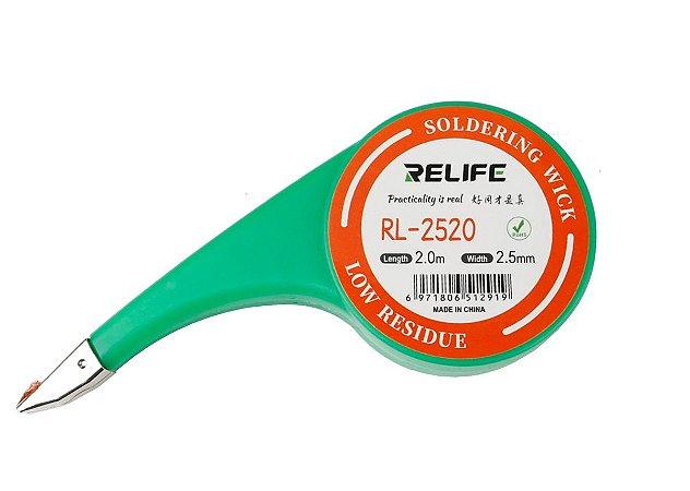 Malha Dessoldadora Relife 2520 2.5mm 2 Metros