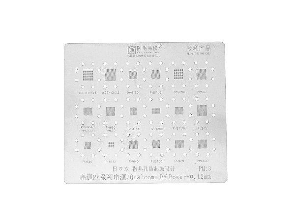 Stencil Qualcomm PM Power 0.12mm Amaoe PM3