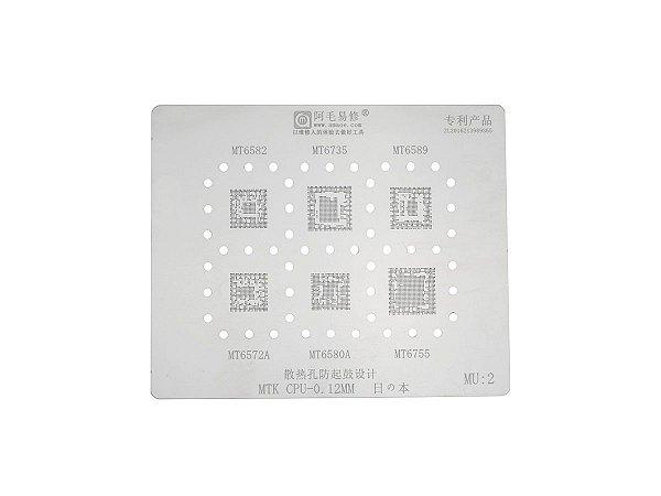 Stencil MTK CPU 0.12mm Amaoe MU2