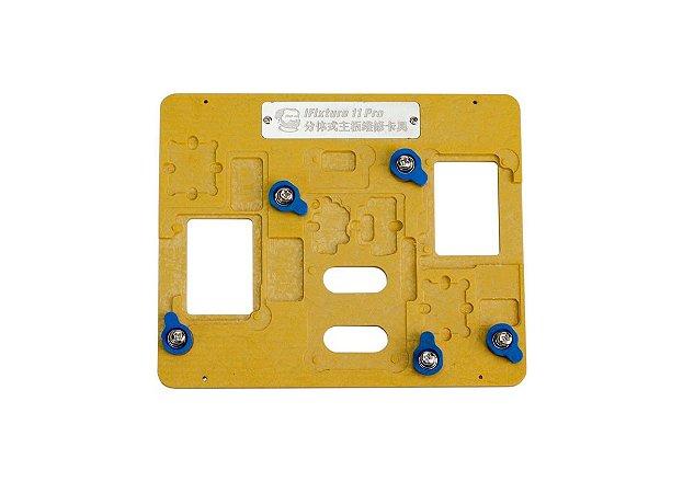 Suporte Placa iPhone 11 Mechanic iFixture 3x1