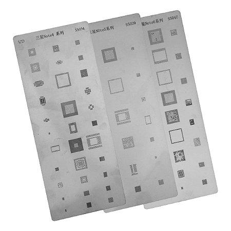 Kit Stencil Samsung Note 4 5 6