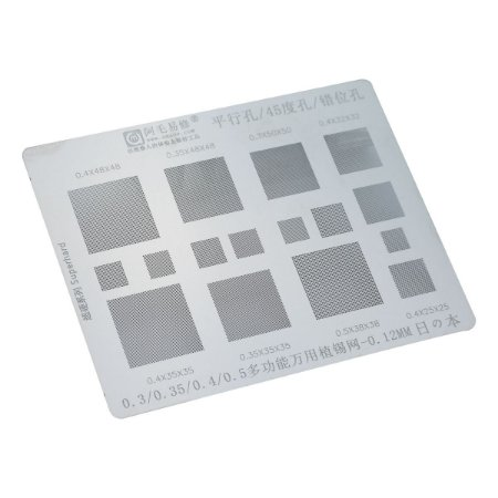 Stencil Amaoe Universal 0.3 0.35 0.4 0.5 SuperHard