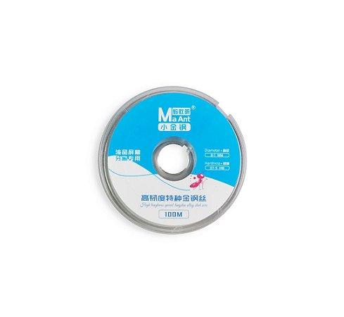 Fio De Aço Separar LCD 0.1mm 37.5 HB MaAnt 100mts