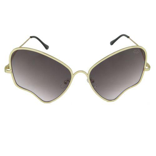 Óculos de Sol Aviador Dourado Geror