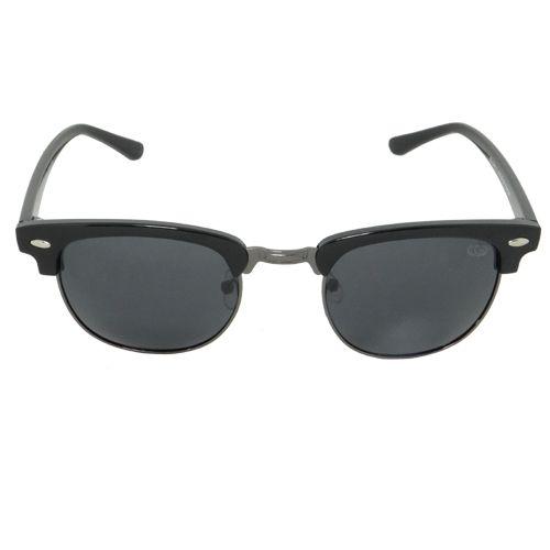 Óculos de Sol Retrô Preto Geror - GEROR ÓCULOS DE SOL 009fa54034