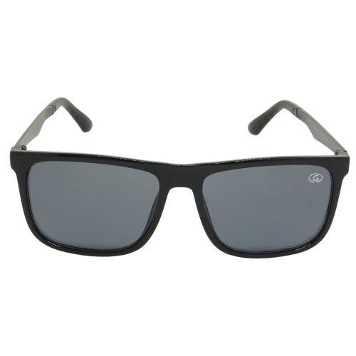Óculos De Sol Quadrado Retro Preto