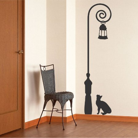 Adesivo O Poste e o Gato
