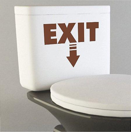 Adesivo Exit